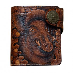 LEATHER WALLET LION (1)